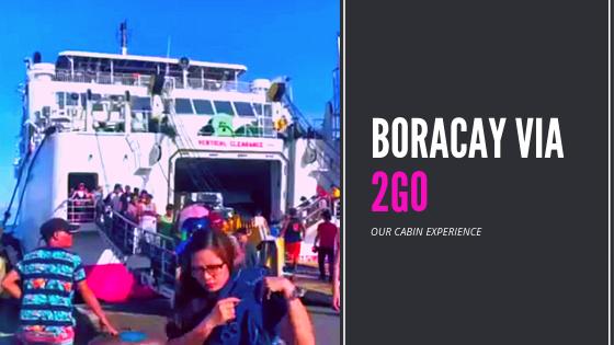 boracay via 2go ship